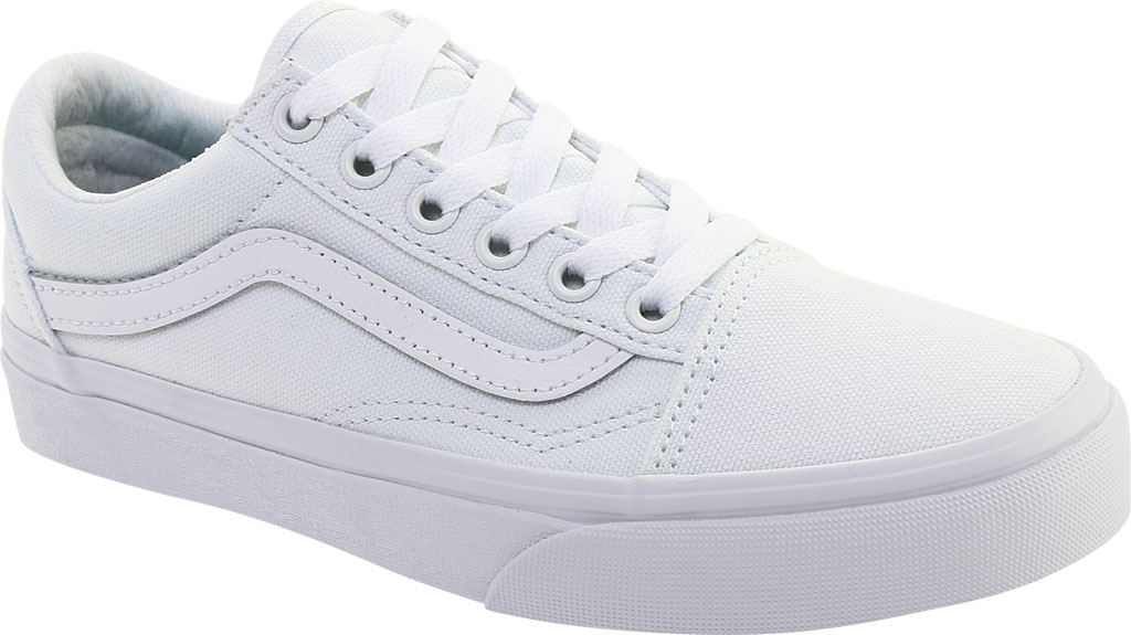 Vans Old Skool UC Sneaker, Made For The Makers True White Canvas, large, image 1