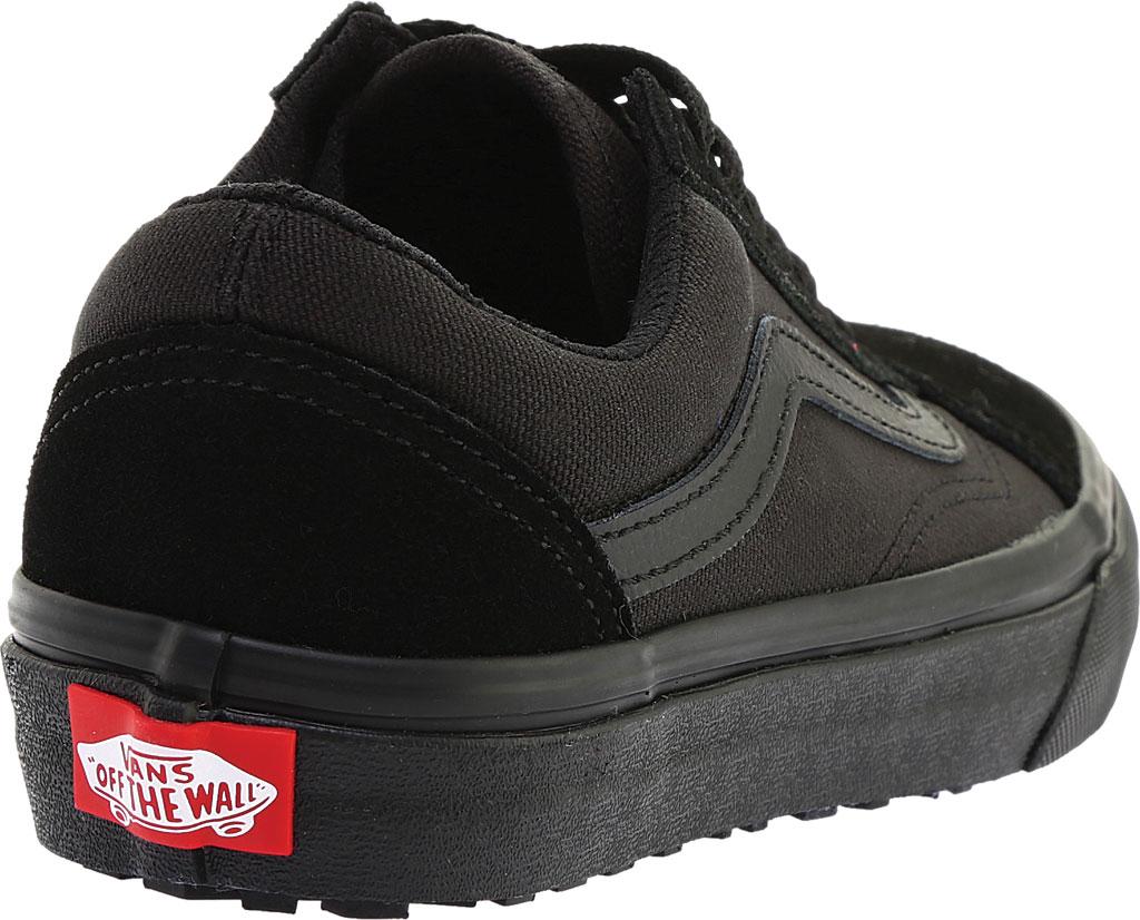 Vans Old Skool UC Sneaker, Made For The Makers Black Suede/Black/Black, large, image 4