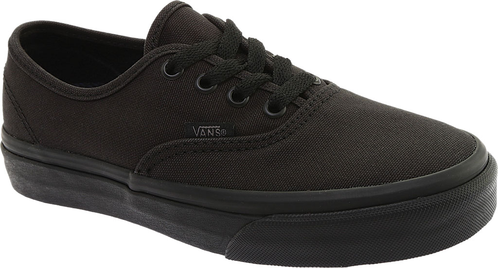 Vans Authentic UC Sneaker, Made For The Makers Black Canvas/Black/Black, large, image 1