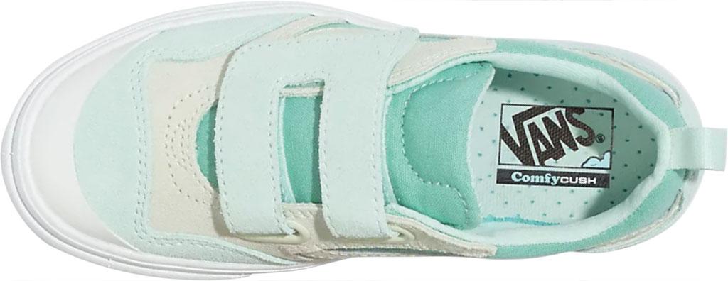 Children's Vans ComfyCush New Skool Autism Awareness V Sneaker, Green, large, image 3