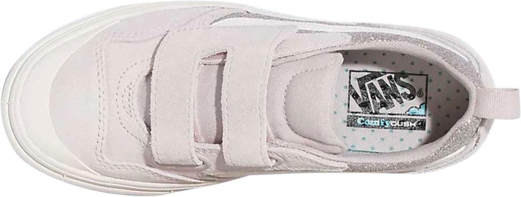 Children's Vans ComfyCush New Skool Autism Awareness V Sneaker, (Autism Acceptance) Hushed Violet/Sparkle, large, image 3