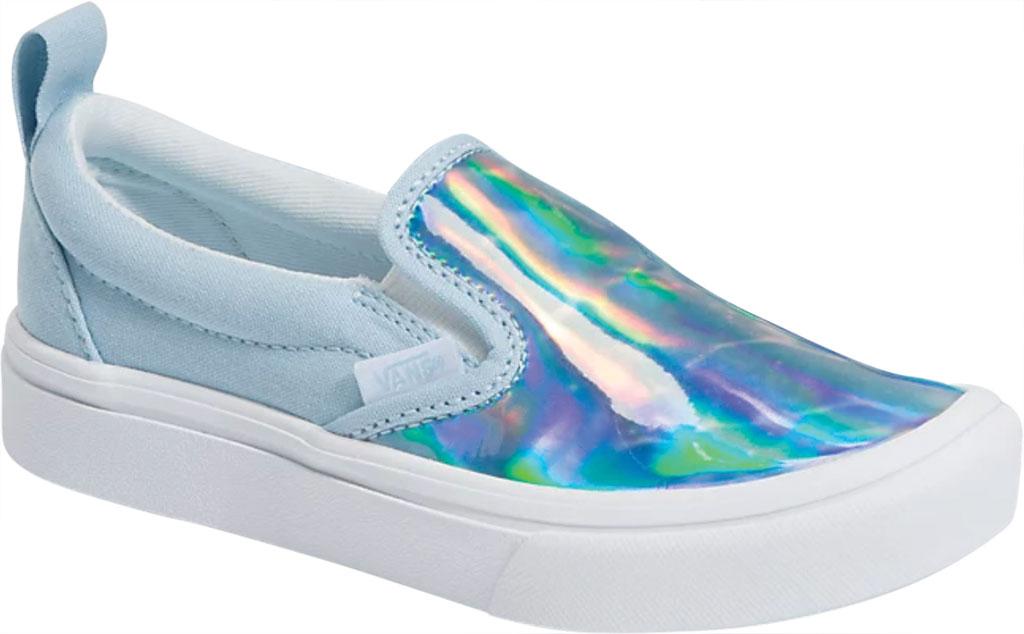 Children's Vans ComfyCush Slip On Autism Awareness Sneaker, Vans Heart/True Blue, large, image 1