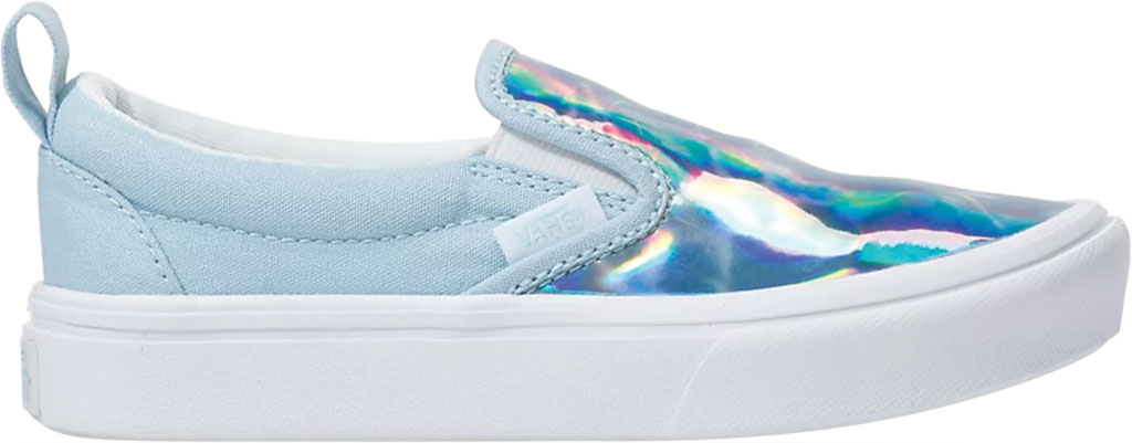 Children's Vans ComfyCush Slip On Autism Awareness Sneaker, Vans Heart/True Blue, large, image 2