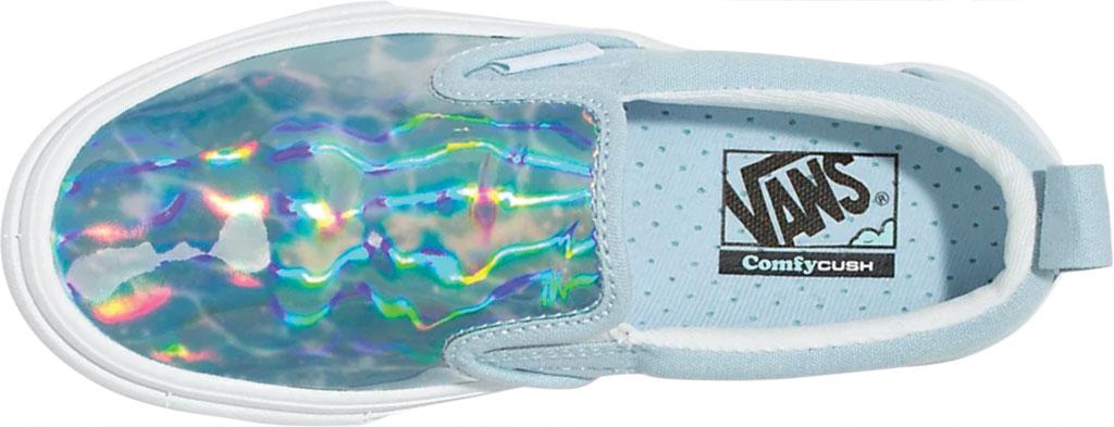 Children's Vans ComfyCush Slip On Autism Awareness Sneaker, Vans Heart/True Blue, large, image 3