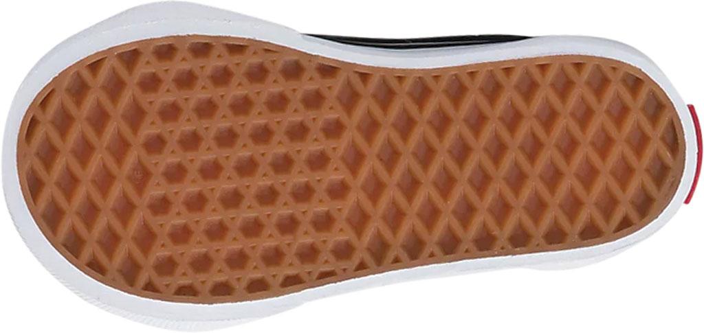 Infant Vans Sk8 Hi Zipper Back Canvas Sneaker - Toddler, Black/White, large, image 4