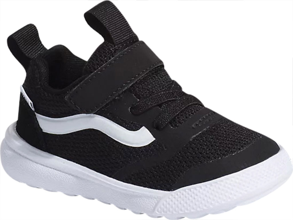 Infant Vans UltraRange Rapidweld Sneaker (Toddler), Black/True White, large, image 1