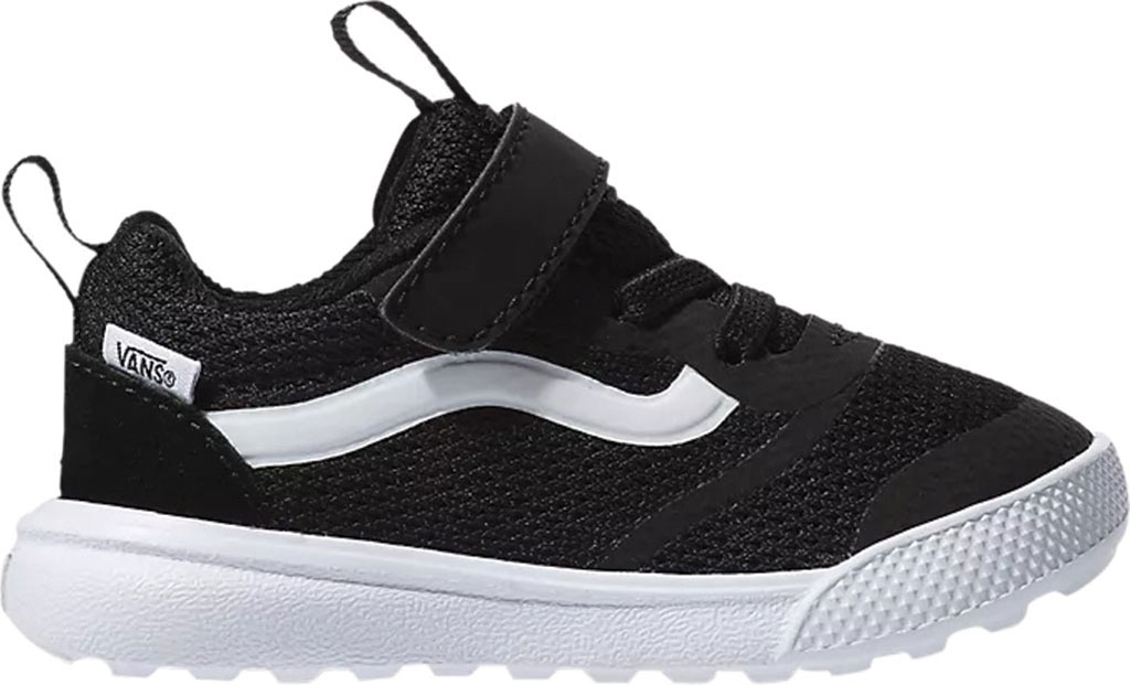 Infant Vans UltraRange Rapidweld Sneaker (Toddler), Black/True White, large, image 2