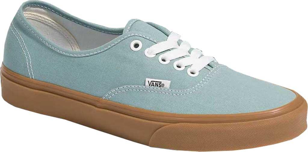 Vans Authentic Gum Sole Canvas Sneaker, Blue Surf/Marshmallow, large, image 1