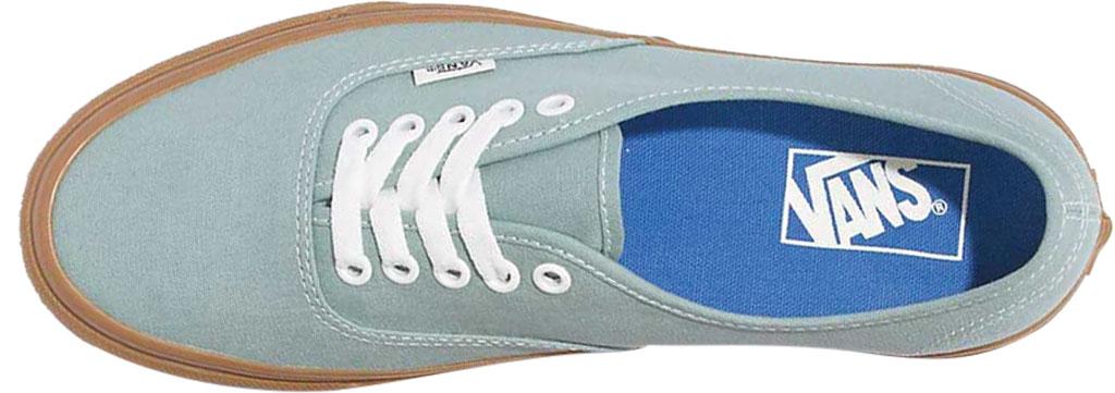Vans Authentic Gum Sole Canvas Sneaker, Blue Surf/Marshmallow, large, image 3