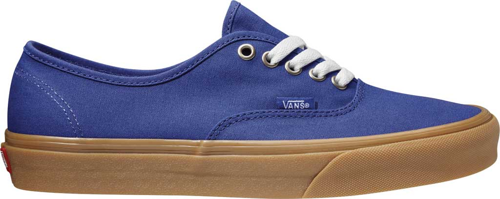 Vans Authentic Gum Sole Canvas Sneaker, (Gum) Spectrum Blue/True White, large, image 2