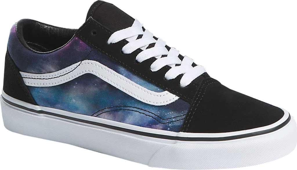 Vans Old Skool Seasonal Canvas Sneaker, (Galaxy) Black/True White, large, image 1