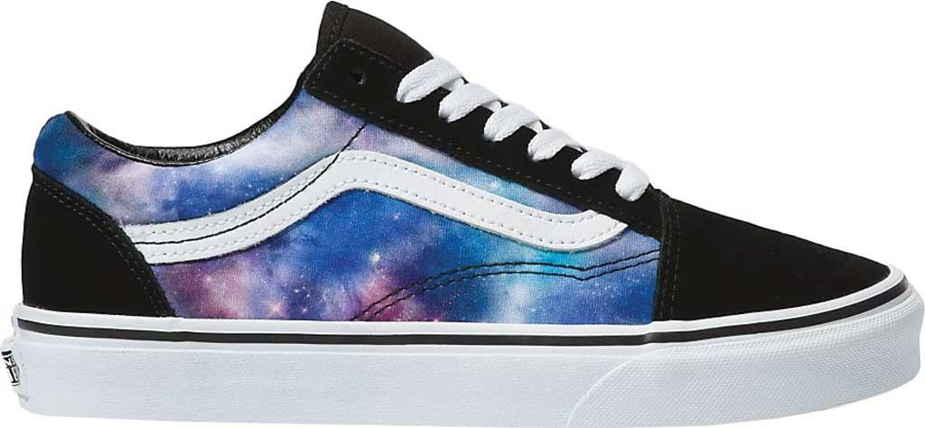 Vans Old Skool Seasonal Canvas Sneaker, (Galaxy) Black/True White, large, image 2