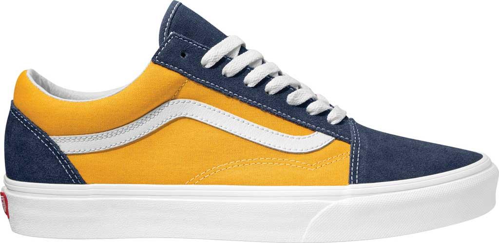 Vans Old Skool Seasonal Canvas Sneaker, (Classic Sport) Dress Blues/Saffron, large, image 1