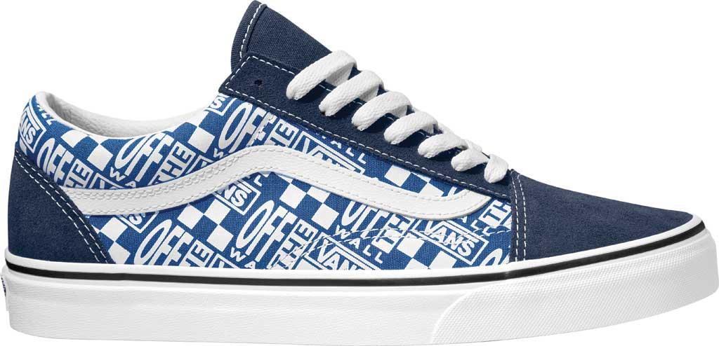 Vans Old Skool Seasonal Canvas Sneaker, (Off The Wall) Dress Blues/True Blue, large, image 1