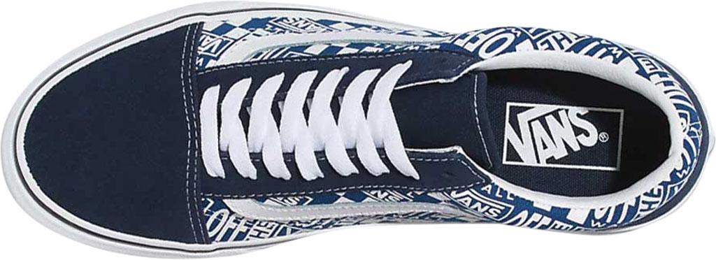 Vans Old Skool Seasonal Canvas Sneaker, (Off The Wall) Dress Blues/True Blue, large, image 2