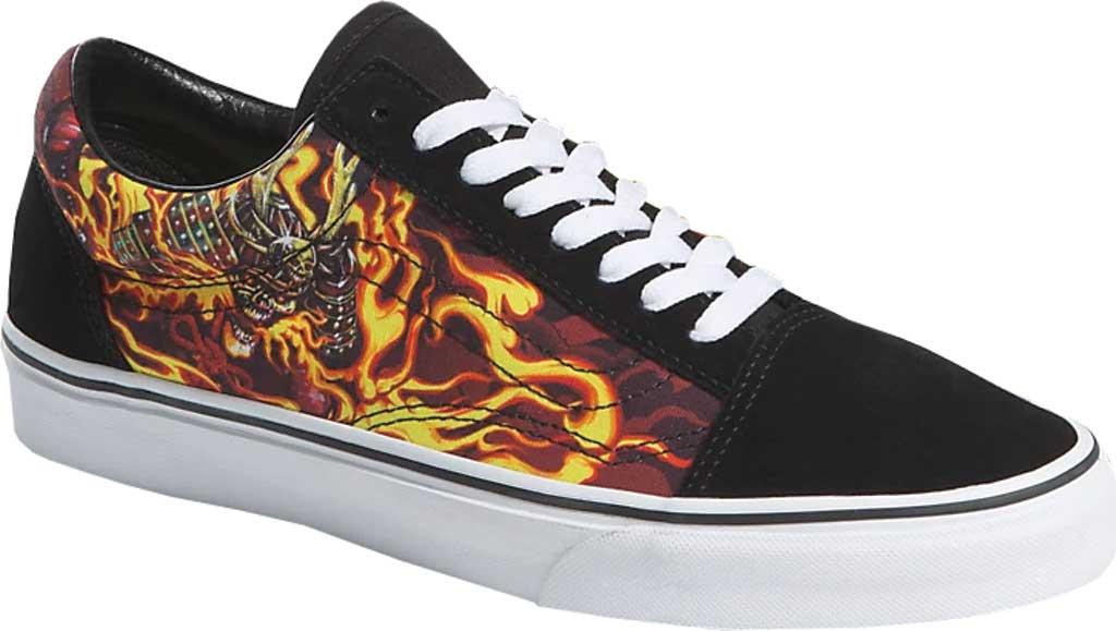 Vans Old Skool Seasonal Canvas Sneaker, (Samurai Rising) Black/True White, large, image 1