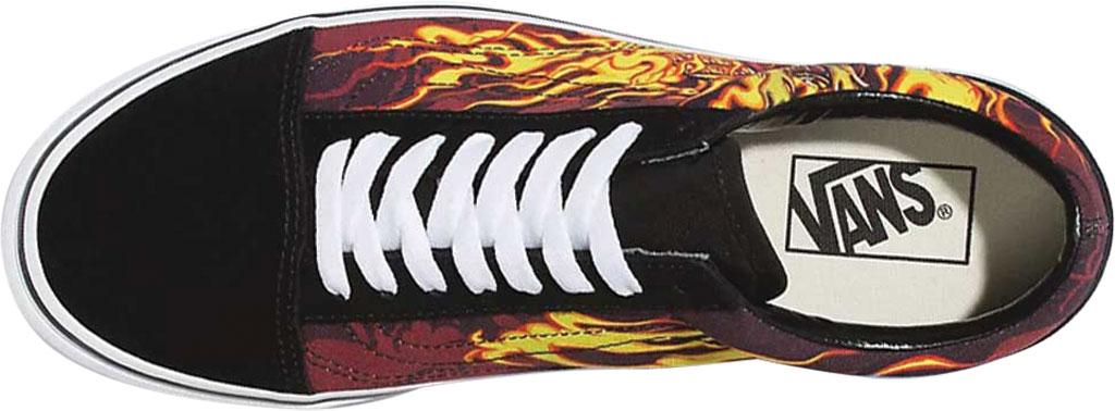 Vans Old Skool Seasonal Canvas Sneaker, (Samurai Rising) Black/True White, large, image 3