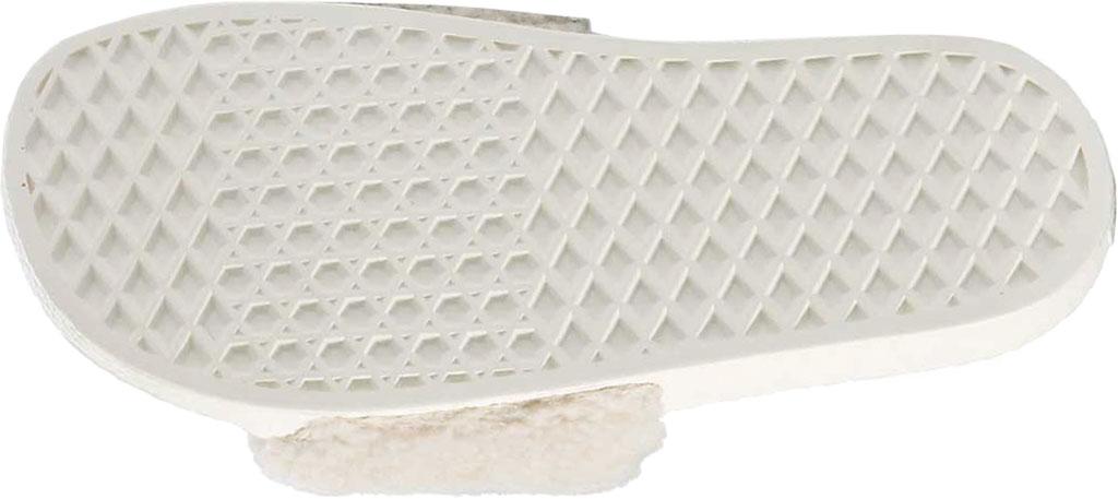 Women's Vans Slide-On Sherpa Sandal, Chipmunk/Marshmallow, large, image 5