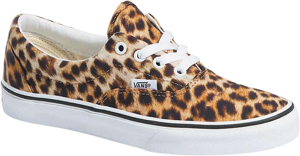 Vans Era Leopard Canvas Sneaker, Black/True White/Leopard, large, image 1