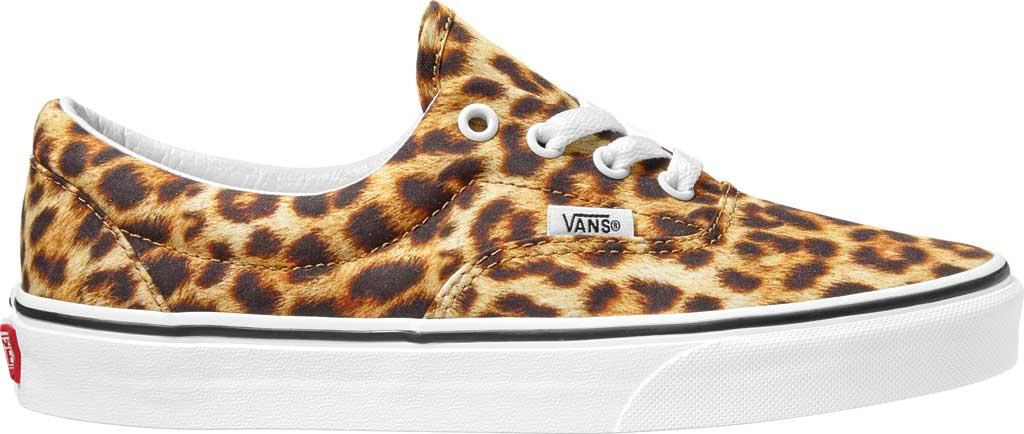 Vans Era Leopard Canvas Sneaker, Black/True White/Leopard, large, image 2