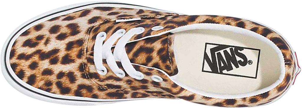Vans Era Leopard Canvas Sneaker, Black/True White/Leopard, large, image 3
