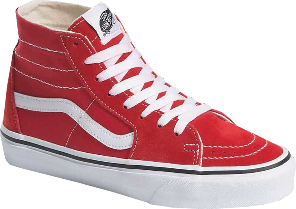 Vans SK8-Hi Tapered Sneaker, Racing Red/True White, large, image 1