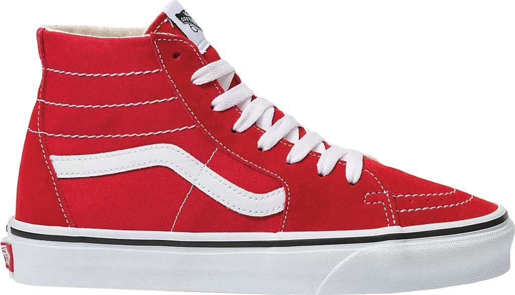 Vans SK8-Hi Tapered Sneaker, Racing Red/True White, large, image 2
