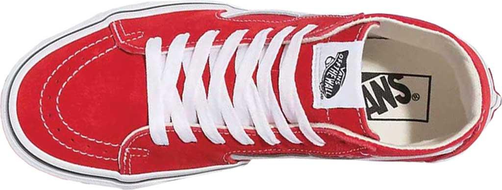 Vans SK8-Hi Tapered Sneaker, Racing Red/True White, large, image 3