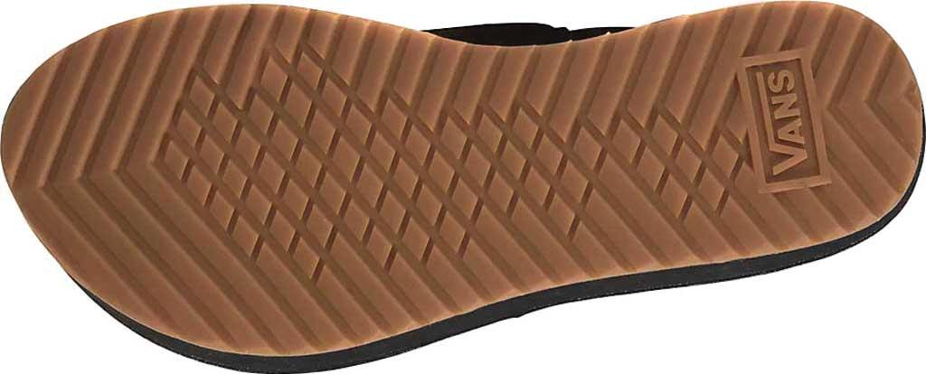 Women's Vans Cayucas Slide Mega Platform, (Suede Leopard) Chipmunk/Marshmallow, large, image 4