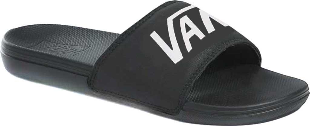 Men's Vans La Costa Slide-On, (Vans) Black, large, image 1