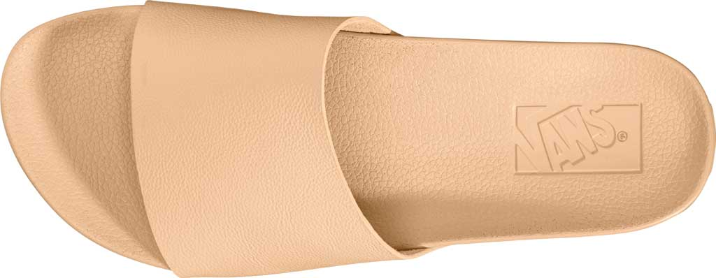 Women's Vans Decon Slide, (Leather) Amberlight, large, image 2