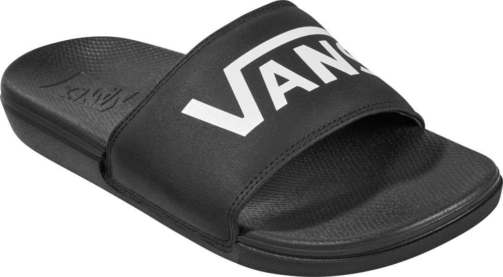 Children's Vans Junior La Costa Slide-On, (Vans) Black, large, image 1