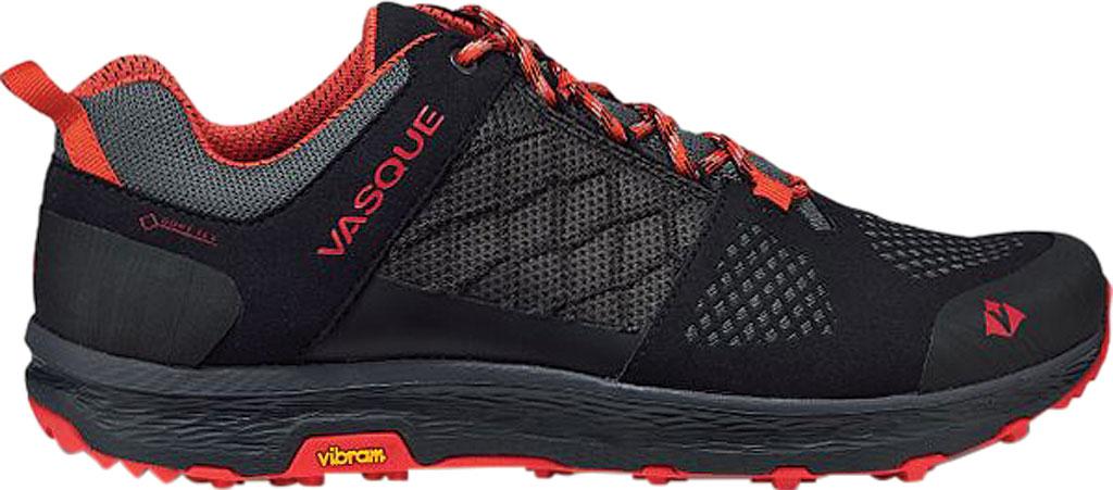 Men's Vasque Breeze LT Low GORE-TEX Sneaker, Anthracite/Red Microfiber/Mesh, large, image 2