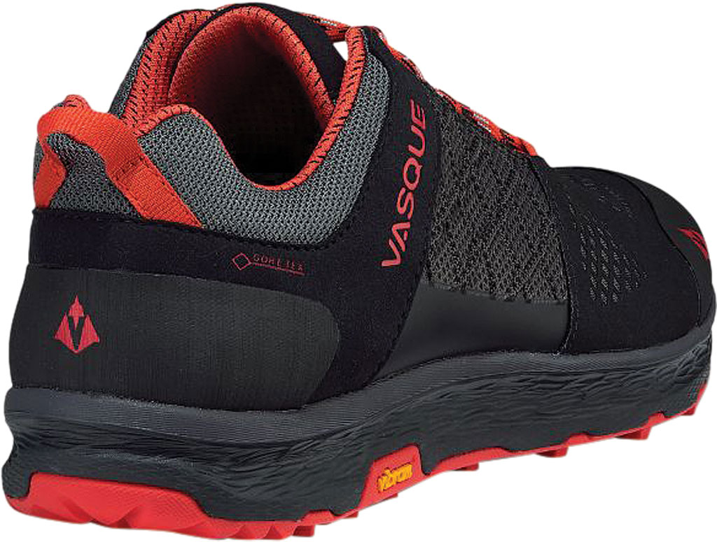 Men's Vasque Breeze LT Low GORE-TEX Sneaker, Anthracite/Red Microfiber/Mesh, large, image 4
