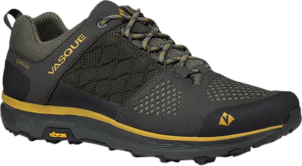 Men's Vasque Breeze LT Low GORE-TEX Sneaker, Beluga/Olive Microfiber/Mesh, large, image 1