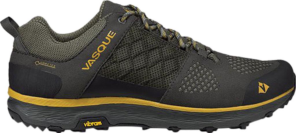 Men's Vasque Breeze LT Low GORE-TEX Sneaker, Beluga/Olive Microfiber/Mesh, large, image 2
