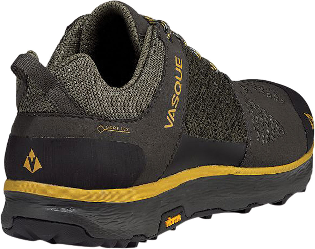 Men's Vasque Breeze LT Low GORE-TEX Sneaker, Beluga/Olive Microfiber/Mesh, large, image 4