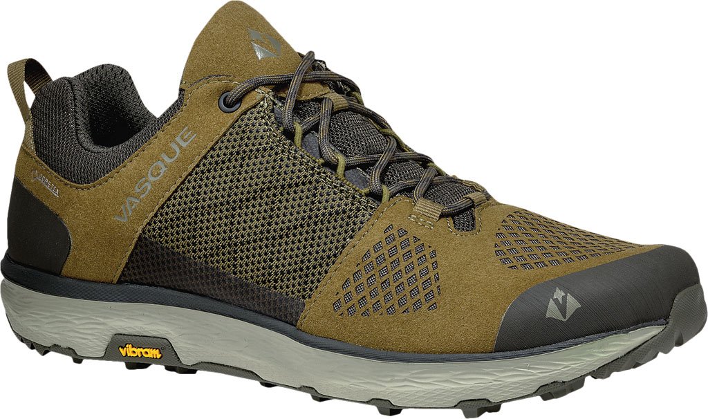 Men's Vasque Breeze LT Low GORE-TEX Sneaker, Lizard/Beluga, large, image 1