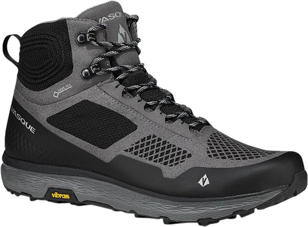 Men's Vasque Breeze LT GORE-TEX Hiking Boot, Gargoyle/Jet Black Microfiber/Mesh, large, image 1