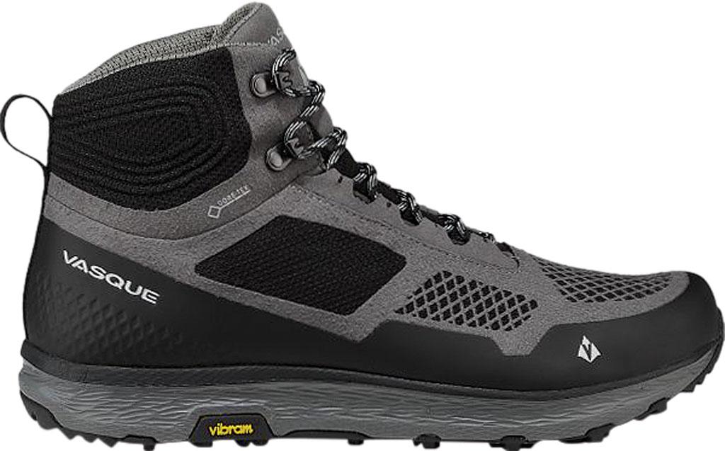 Men's Vasque Breeze LT GORE-TEX Hiking Boot, Gargoyle/Jet Black Microfiber/Mesh, large, image 2