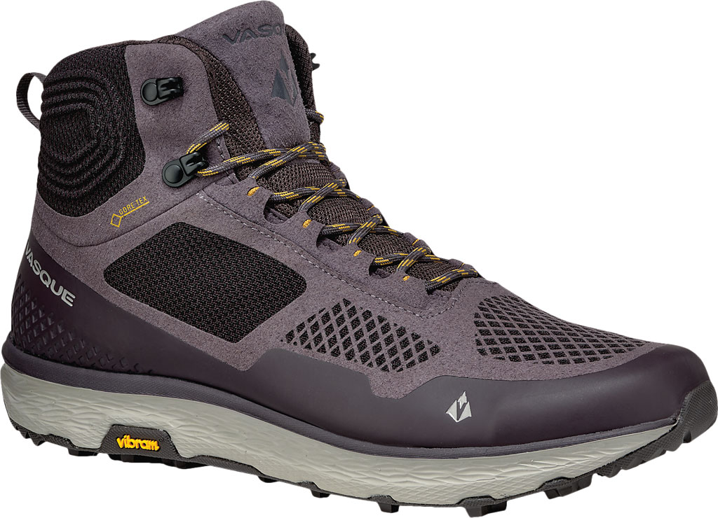 Men's Vasque Breeze LT GORE-TEX Hiking Boot, Rabbit/Tawny Olive, large, image 1