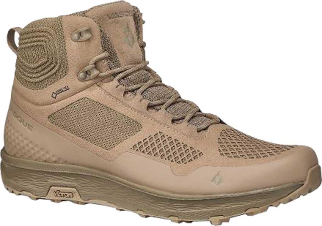Men's Vasque Breeze LT GORE-TEX Hiking Boot, Dune Microfiber/Abrasion Resistant Mesh, large, image 1