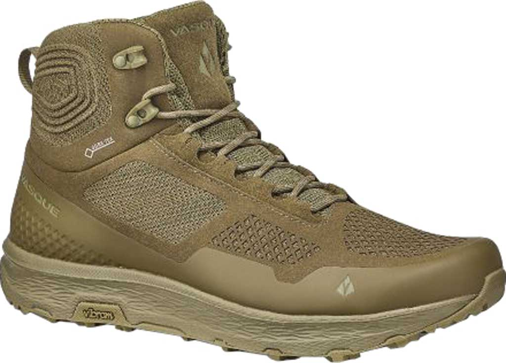 Men's Vasque Breeze LT GORE-TEX Hiking Boot, Ranger Microfiber/Abrasion Resistant Mesh, large, image 1