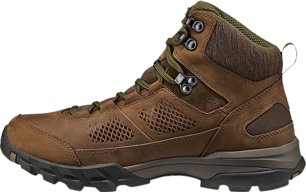Men's Vasque Talus AT UltraDry Hiking Boot, Dark Earth/Avocado Waterproof Nubuck/Mesh, large, image 3
