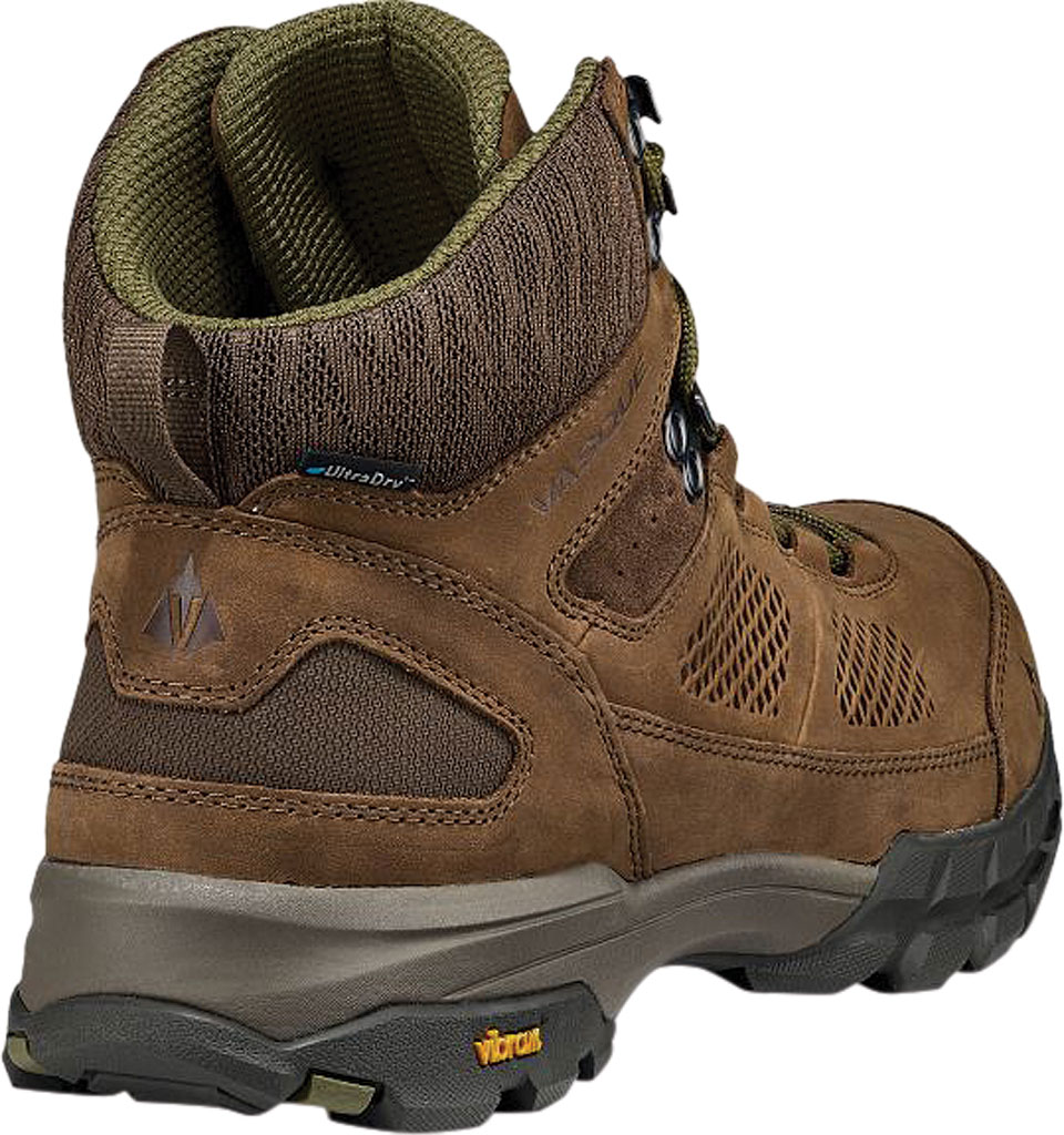 Men's Vasque Talus AT UltraDry Hiking Boot, Dark Earth/Avocado Waterproof Nubuck/Mesh, large, image 4