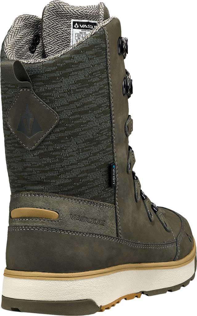 Women's Vasque Laplander UltraDry Boot, Dusty Olive/Bone White Waterproof Nubuck/Knit, large, image 4
