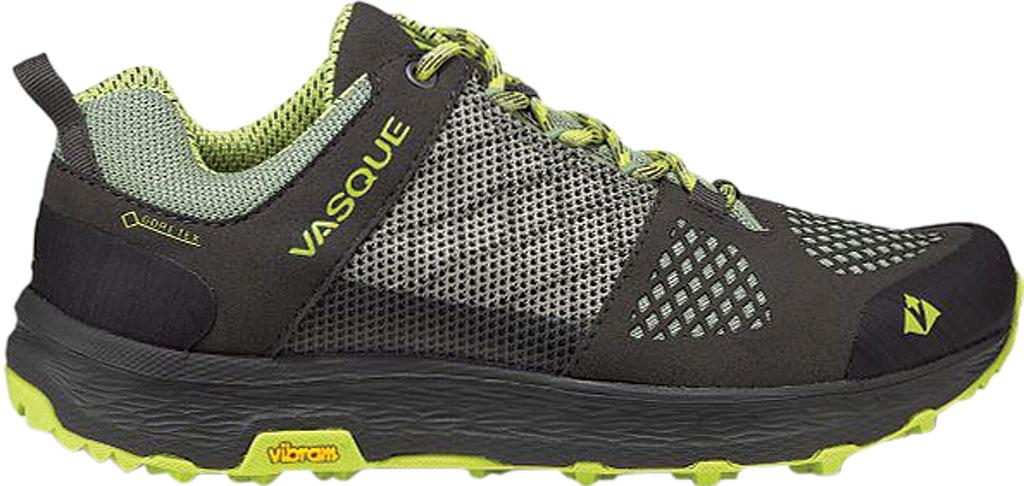 Women's Vasque Breeze LT Low GORE-TEX Sneaker, Beluga/Basil Microfiber/Mesh, large, image 2