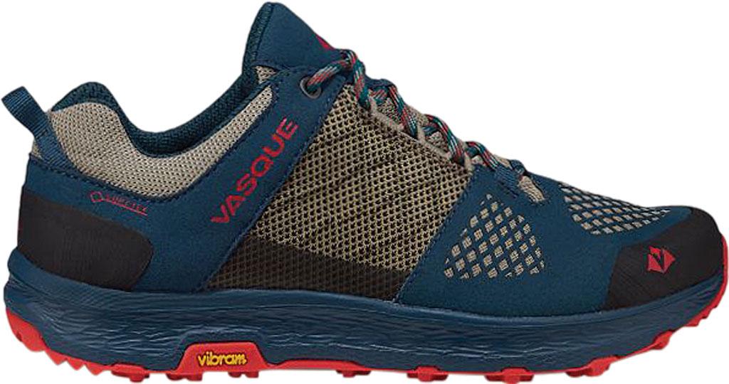 Women's Vasque Breeze LT Low GORE-TEX Sneaker, Blue/Red Microfiber/Mesh, large, image 2