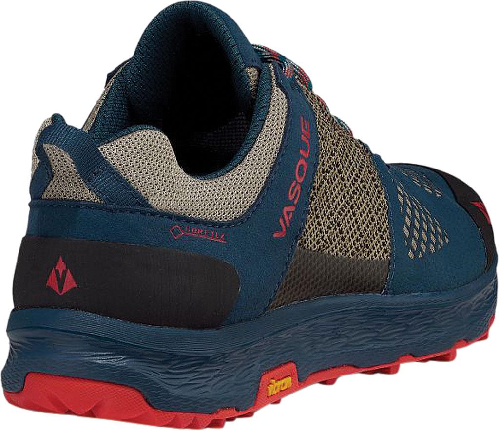 Women's Vasque Breeze LT Low GORE-TEX Sneaker, Blue/Red Microfiber/Mesh, large, image 4