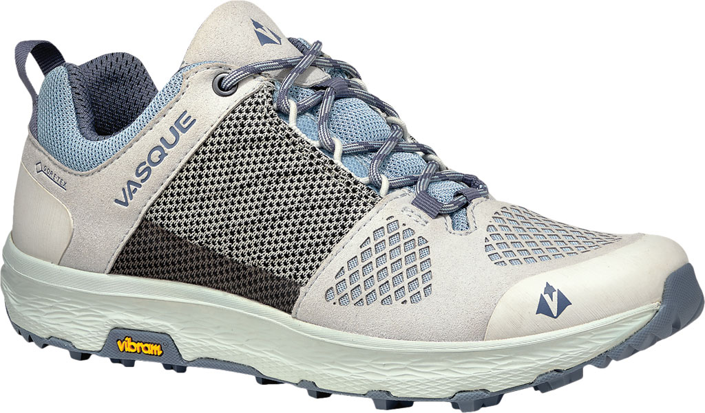Women's Vasque Breeze LT Low GORE-TEX Sneaker, Lunar Rock/Celestial Blue, large, image 1